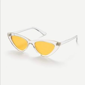 "Sunny spice"" Cat Eye flat lens sunglasses"